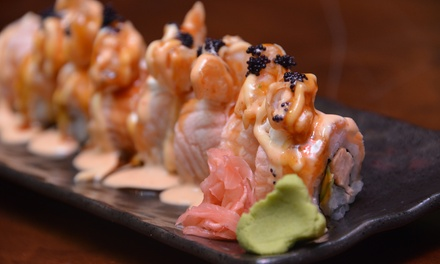 Up to AED 300 to Spend on the Entire Menu at Sushi Story, Two Locations (Up to 46% Off)