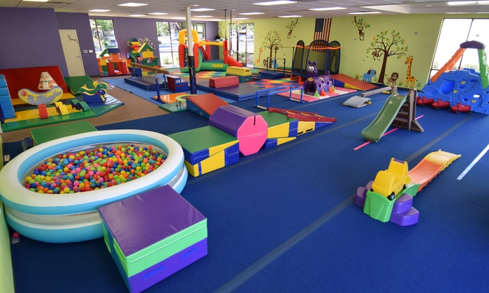Tiny Tumblers - Rocklin: $59 for One Month of Parent and Child Classes at Tiny Tumblers ($98 Value)
