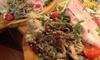 大皿盛りのイタリアン料理コース