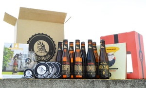 Belgibeer: Une box dégustation de bières artisanales belges à 31 € avec Belgibeer