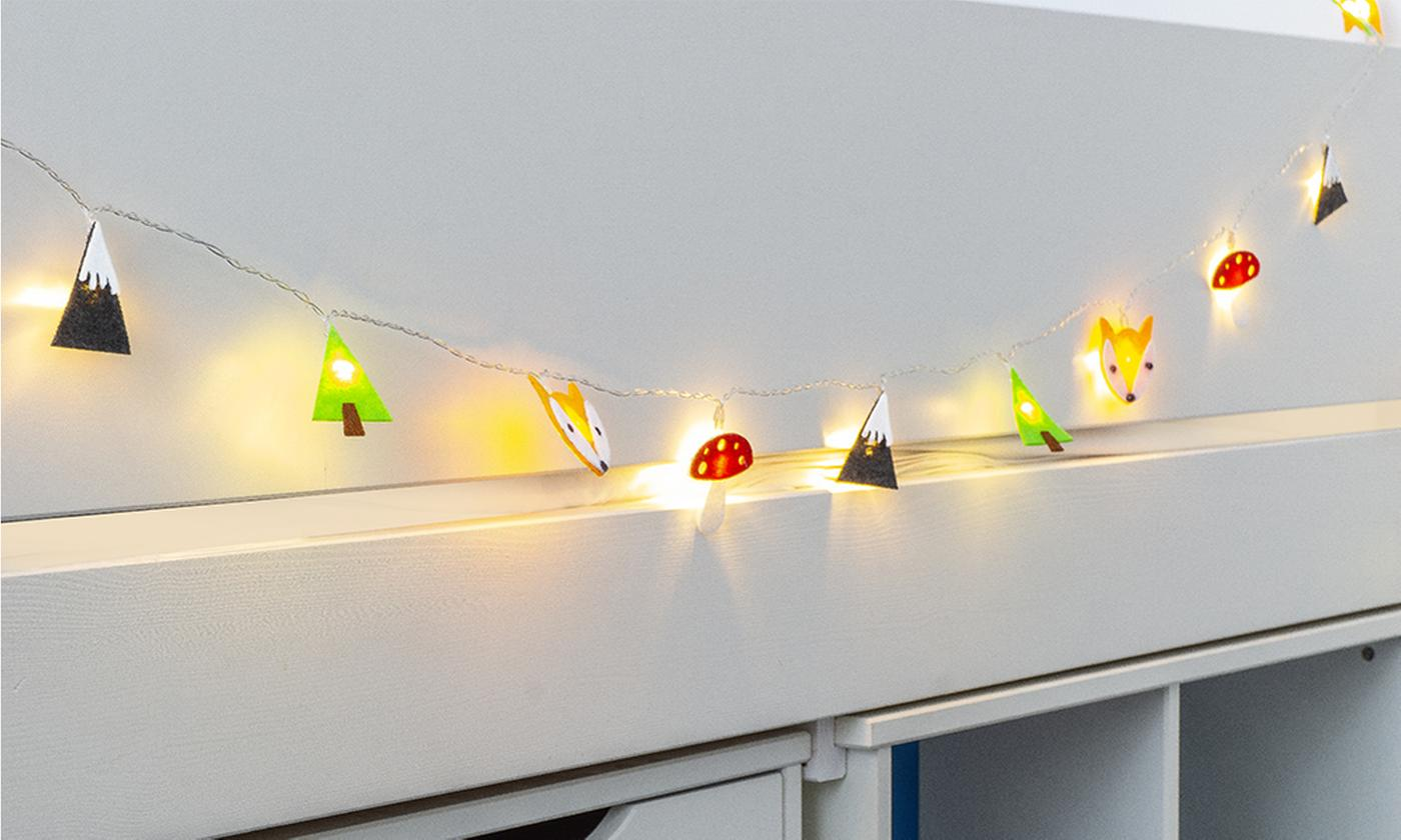 One, Two or Three 16 LED Kids String Lights