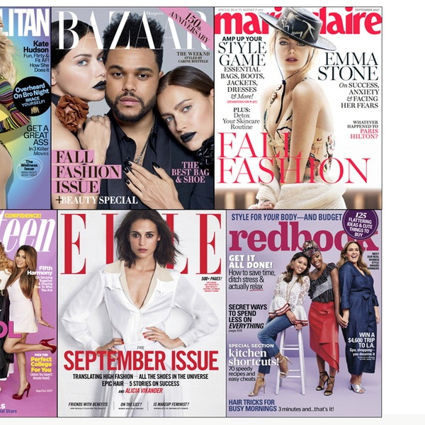 Fashion Magazine Subscription Hearst Magazines Groupon