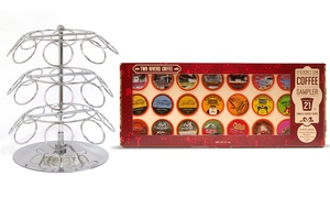 Two Rivers Single-Serve Coffee Pods Gift Box with Carousel (21-Count)