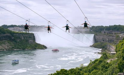 image for C$47.99 for MistRider Zipline for One at WildPlay Niagara Falls (C$59.99 Value)