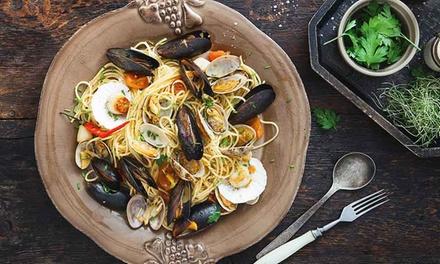 Dolce & Salato: menu di mare con bottiglia