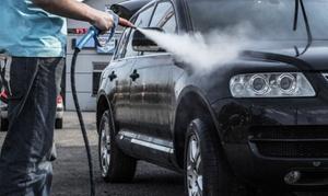 KRAS Mobilna Myjnia Parowa: Parowe mycie i czyszczenie aut: pakiet gold od 139,99 zł i więcej opcji w Mobilnej Myjni Parowej KRAS (do -39%)