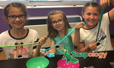 $25 for ThreeHour Science of Slime Workshop for Children 5 14 w/ Snapology, Five Locations Up to $45 Value
