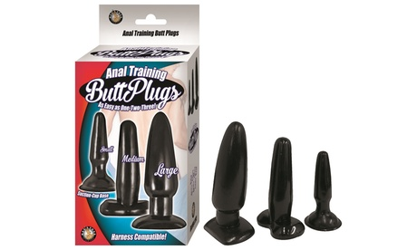 Nasstoys Anal Training Butt Plugs (3-Pack) dea042b4-8458-11e7-96f4-00259069d7cc