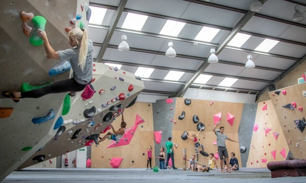 Adult Climbing Day Pass and Shoe Hire for One, Two or Four at Chimera Climbing, Tonbridge Wells (Up to 64% Off)