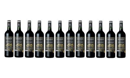 $119 for a 12Bottle Case of AwardWinning Empereur Bordeaux 2015 Wine Don't Pay $359.88