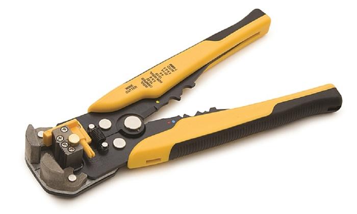 Titan Tools Self-Adjusting Wire Stripper, Crimper, and Cutter