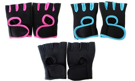 Fitness Training Gloves: One $9.95 or Two Pairs $15