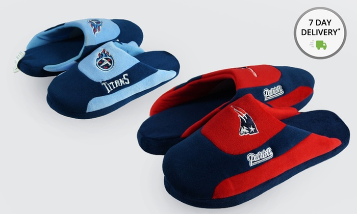 NFL AFC Comfy Feet Slippers: NFL AFC Comfy Feet Slippers. Multiple Teams Available. Free Shipping andReturns.