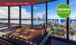 Four Winds 360° Revolving Restaurant: From $55 for an All-You-Can-Eat Seafood Buffet at Awarded Four Winds 360° Revolving Restaurant (From $88 Value)