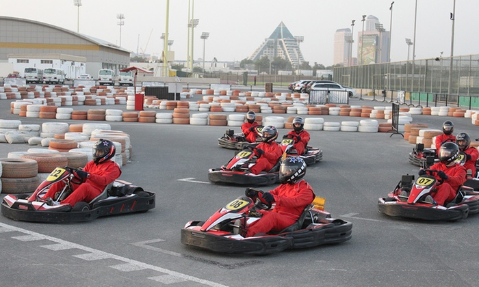 emiratene kart 15 Minute Go Karting Experience   Emirates Kart Zone | Groupon emiratene kart