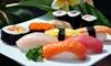 3-Gänge-Sushi-Menü inkl. Getränk