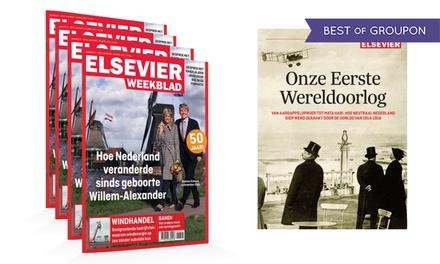 Vaderdagtip: 10-18 nummers Elsevier + special 'Onze Eerste Wereldoorlog' (abonnement stopt automatisch)