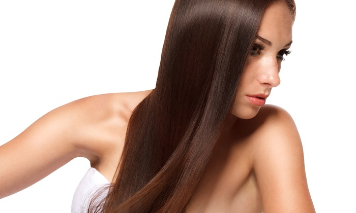 Capelli Salon - Santa Clarita: Haircut with Brazilian Blowout or Eyebrow Wax at Capelli Salon (Up to 60% Off)