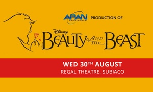 Beauty and the Beast the Musical: $35 for a Ticket to Beauty and the Beast the Musical, 30 August, Regal Theatre (Up to $85 Value)