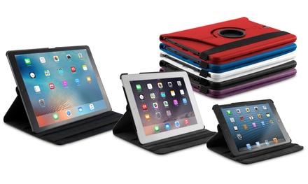 Housse pour iPad 360° en simili-cuir, modèles au choix à 6,99 € (83% de réduction)