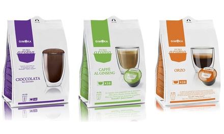 Fino a 192 capsule di caffè Gimoka compatibili, disponibili in 3 miscele