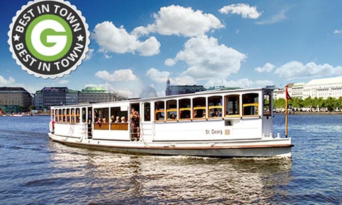 Alsterdampfschifffahrt - Hamburg: 45 Min. Alsterrundfahrt mit der Alsterdampfschiffahrt für 12 € (50% sparen*)