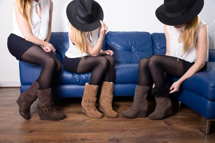Redfoot Wedge Boots (49,90 €)