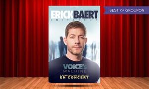 DH Management: 2 places pour Erick Baert ''100 concerts à lui tout seul'' le mardi 13 juin 2017 à 20h à 25 € au café de la Danse