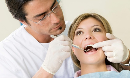 $79 for an Exam with Regular Cleaning and Full-Mouth X-Rays at Dental Care Of Antioch ($342 Value)