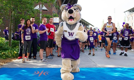 Husky 5K Entry for One, Two or Four from University of Washington Bothell (Up to 46% Off)