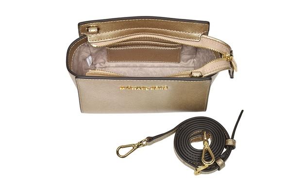 6ede9cad1cda Free Shipping   189 for a Michael Kors Selma Mini Saffiano Leather ...