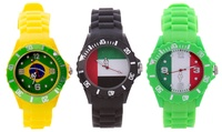 Flag-Themed Silicone Watch in Choice of Design for AED 69 (69% Off)
