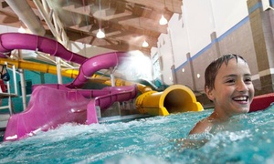 North Clackamas Aquatic Park: Indoor Water Park Visit for Four Residents or Non-Residents at North Clackamas Aquatic Park (Up to 50% Off)