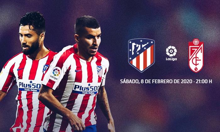 Estar confundido sangre Estadístico  Descuento entrada Atlético vs Granada - Club Atlético de Madrid | Groupon