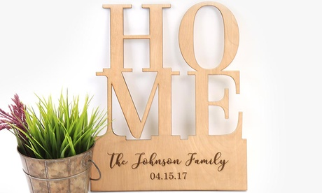 One or Two Pieces of Personalized Wood Art from Monogram Online (Up to 52% Off) 7e6bd3f6-845c-4c65-86ca-9116cd2b7c30