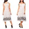 Women's Cotton Summer-Style Maxi Dress (Size XL)