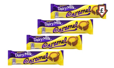 48 Cadbury Chocolate Caramel Bars for £22.99 With Free Delivery