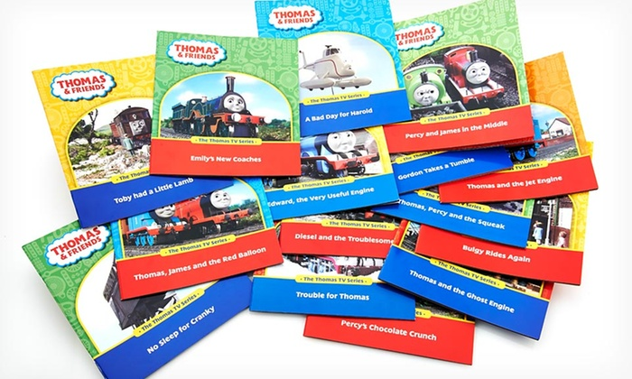 Set of 15 Thomas the Tank Engine Books: $22.99 for Set of 15 Thomas the Tank Engine and Friends Books ($104.85 List Price). Free Shipping.