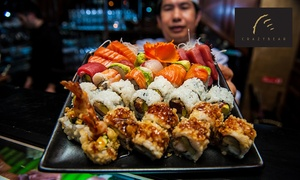 The Crazy Bear Group: £20 for Sushi, Sashimi and Premium Champagne worth £40 at The Crazy Bear (50% off)
