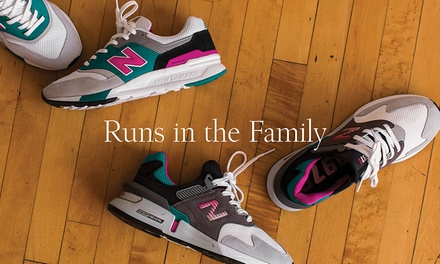 New Balance: $5 Min. Spend $99 or $10 Min. Spend $199 to Spend Online