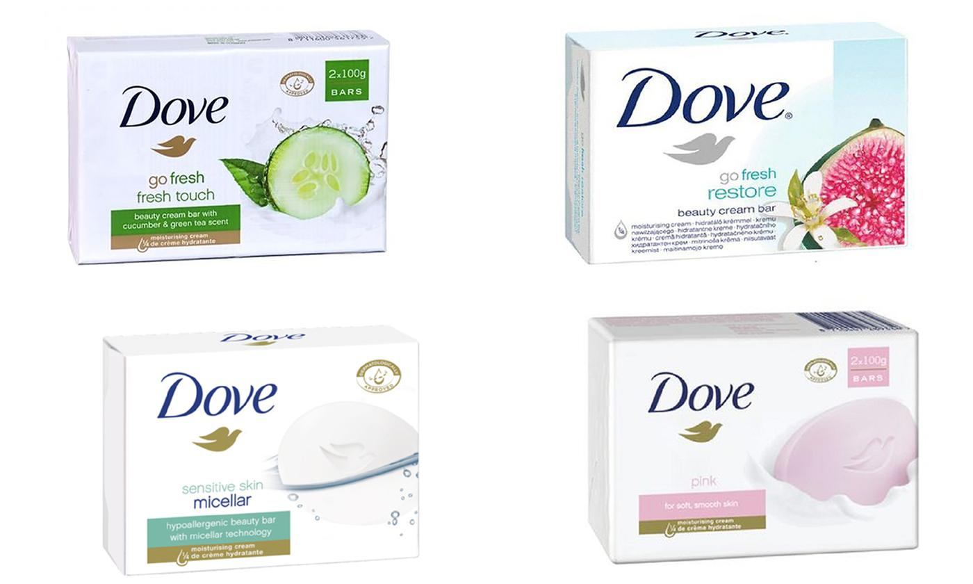 Dove Soap Eight-Pack