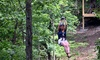 Up to 51% Off 1.5 Hour Zip-Lining Tour at 76 Flylines