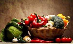 Le Petit Primeur: Panier de légumes entre 5 et 6 kilos ou 12 et 15 kilos issus de l'agriculture raisonnée dès 34,90€ chez Le Petit Primeur