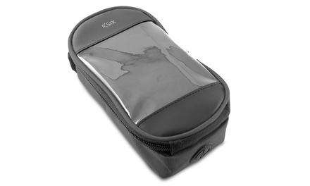 Bolsa de transporte KSIX para Smartphone de hasta 5.5 pulgadas de color negro