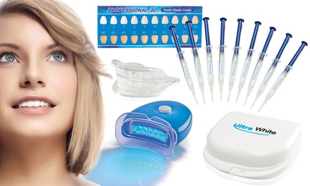 Ultra White Home Teeth Whitening Kit with 3, 9 or 15 Syringes