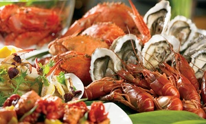 A La Grand: Seafood Buffet with Soft Drinks for One, Two or Four at A La Grand (Up to 68% Off)