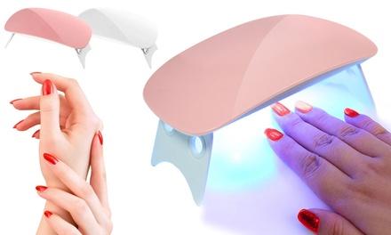 1x oder 2x UV-/LED-Nagellampe in Weiß oder Pink