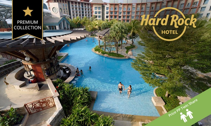 Your Travel Deal - Sentosa: ✈ Singapore: From 1,399 Per Person for 6-Night City Break with Flights and Breakfast at 5-Star Hard Rock Hotel Sentosa