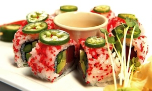 Oishi Japanese Restaurant: Japanese Cuisine or Japanese Barbecue for 2 or 4 at Oishi Japanese Hibachi & Sushi Restaurant (Up to 35% Off)
