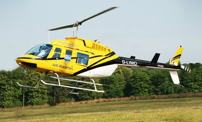 image for Choice of Helicopter Flights from Elite Helicopters (Up to 31% Off)